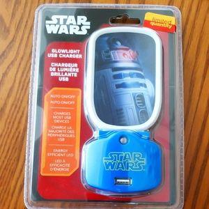 The Star War R2-D2 USB Nightlight Charger